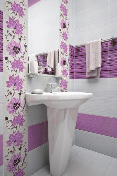 Коллекция Жасмин Уралкерамика - керамическая плитка для ванной, кухни, гостинной
