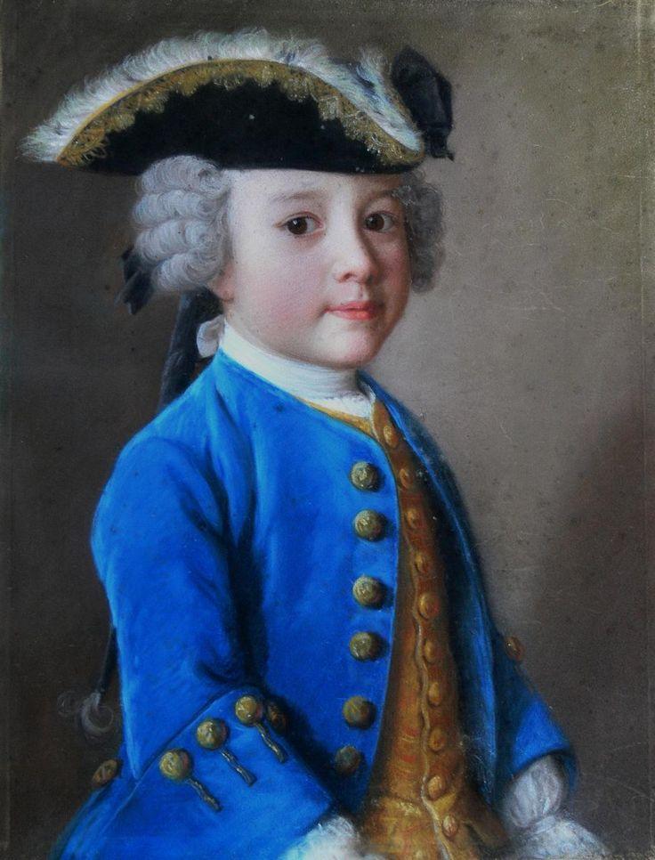 LIOTARD Jean-Etienne - Swiss (Genève 1702 - 1789) - pastel,1744 of Jacques de Chapeaurouge