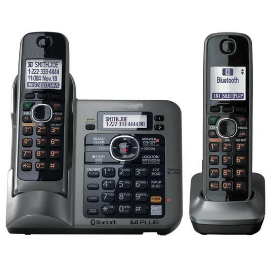 Cheap price US $99.20  2 Handsets Digital Wireless Cordless Phone DECT 6.0 link-to-cell Bluetooth Cordless Telephone With Call ID Answering system    #Handsets #Digital #Wireless #Cordless #Phone #DECT #linktocell #Bluetooth #Telephone #Call #Answering #system  #OnlineShop