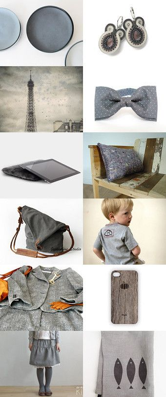 grey by Ewa Lompe on Etsy--Pinned with TreasuryPin.com