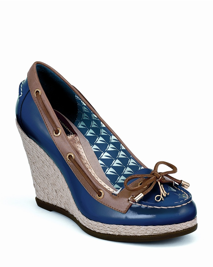 Milly for Sperry Top-Sider  I live in my Sperrys!!  Now they can be dressy!! ;)