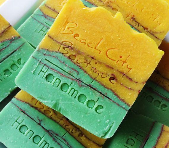 Lemon Geranium Handmade Cold Process Soap
