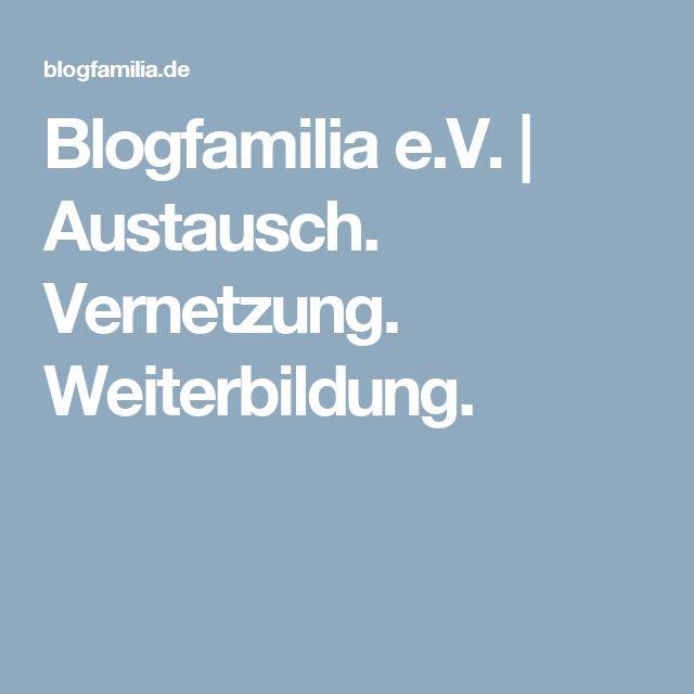 Blogfamilia e.V. | Austausch. Vernetzung. Weiterbildung.