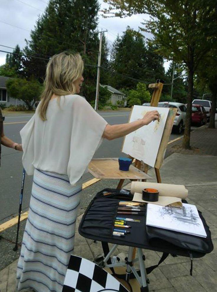 Grand Prix d'Art Painting Race