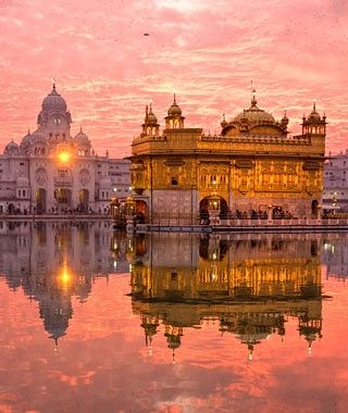 Visiting the Golden Temple, Amritsar, India