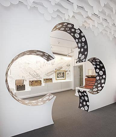 Expo Voyage en France Louis Vuitton
