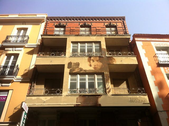 Cada día una foto de Palencia, realizada por ABBÉ NOZAL: Una fachada y una historia