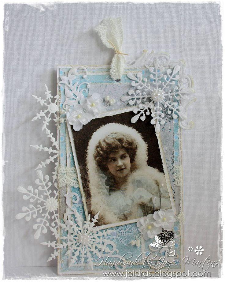 Noor! Design Winter Wishes Tag Door Joyce Martens