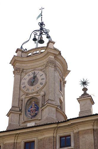 Rom, Piazza dell' Orologio, Torre dell' Orologio (clock tower)