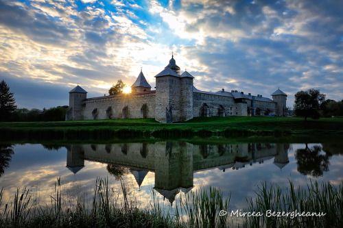 The Dragomirna Monastery in the Romanian region of Bucovina was...