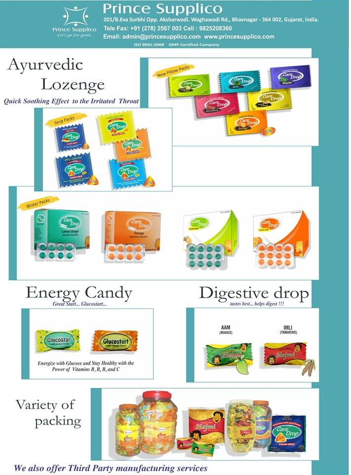 #Ayurvedic #Ayurvediclozenge #EnergyCandy #DigestiveDrop Available in varient packages To oder now contact us on : +91-278-2567003 E-mail : contact@princecareindia.com