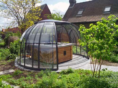 25 best ideas about tub enclosures on pinterest hot tub. Black Bedroom Furniture Sets. Home Design Ideas