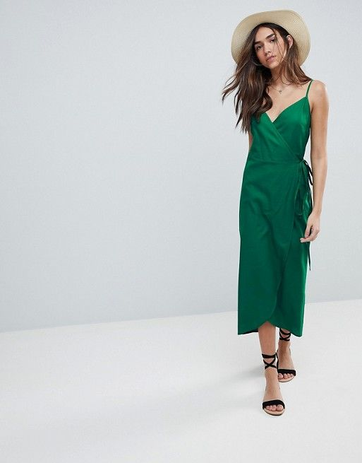 61d34eae66c4 DESIGN Cami Wrap Linen Maxi Slip Dress | 18 New Zealand // Lookbook ...