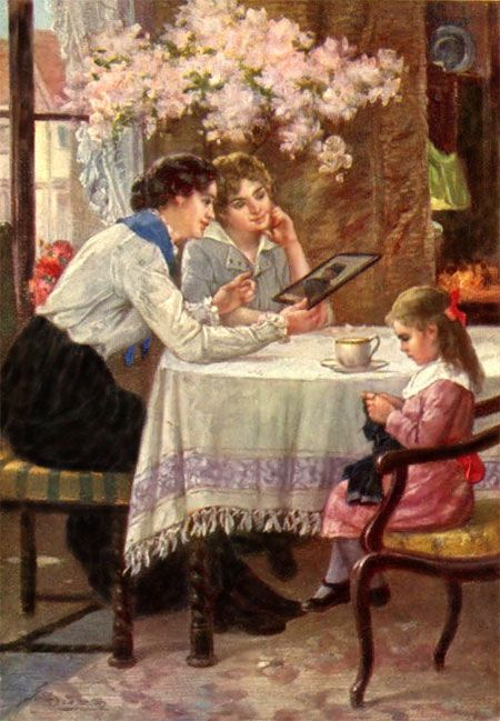 Knitting Oils : Best images about vintage pictures of children knitting