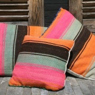 Colourful AndiArt cushions (3)