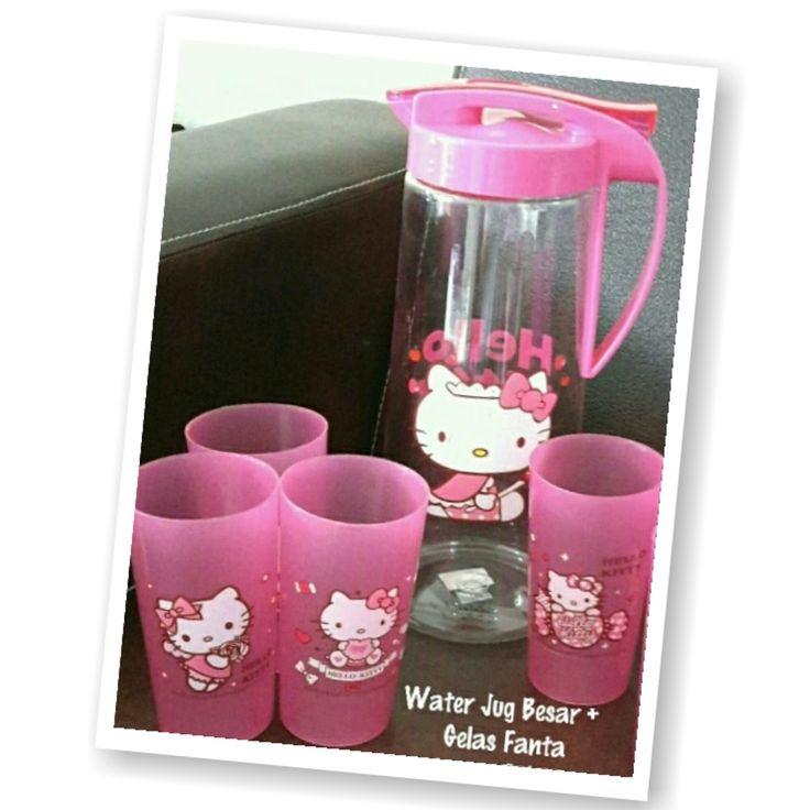 Waterjug Gelas Hello Kitty Murah Grosir Ecer ~ Toko Cherish Imut