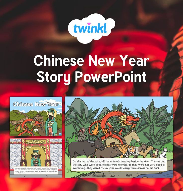 You can now learn all about the Chinese New Year story together! Get the whole class involved using this colourful powerpoint presentation. Learn why cats and rats don't get along, and why the horse represents the seventh year in the Chinese calendar.