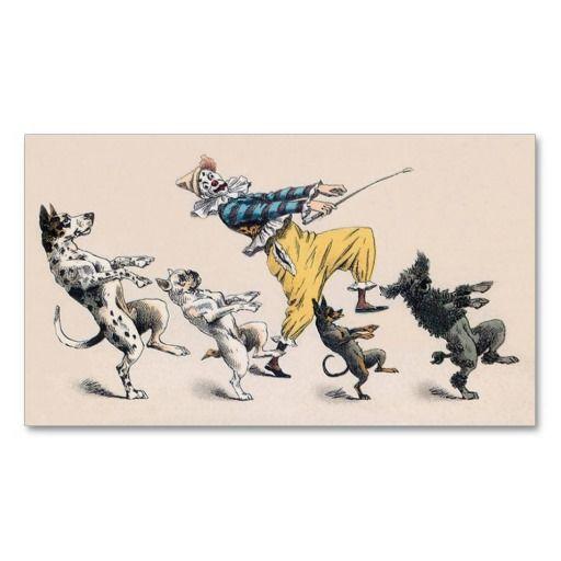 295 best animal trainer business cards images on pinterest animal or dog trainer clown dance teacher business card colourmoves