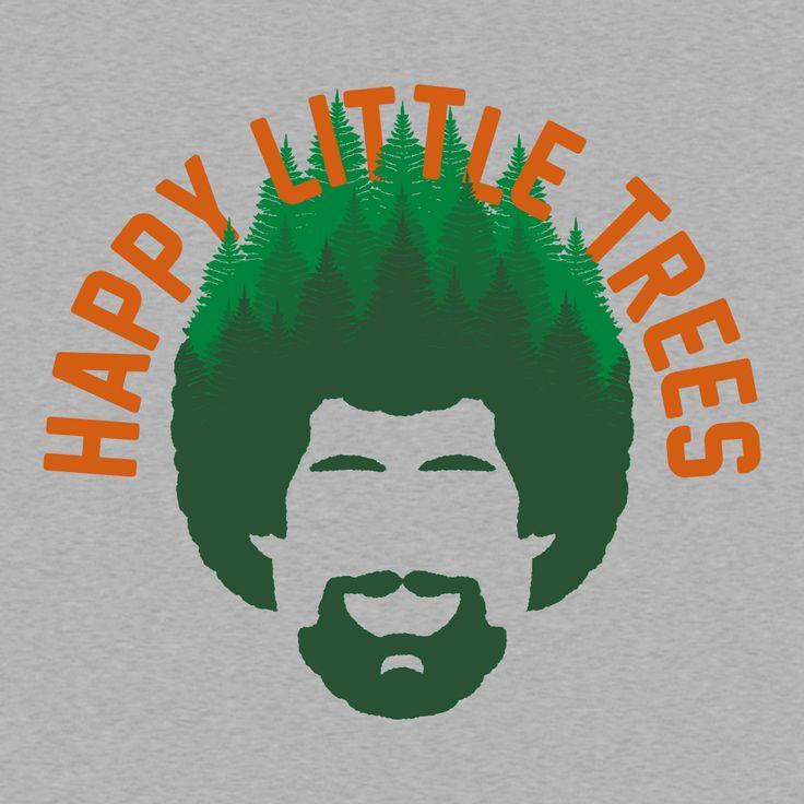 happy little trees - 736×736