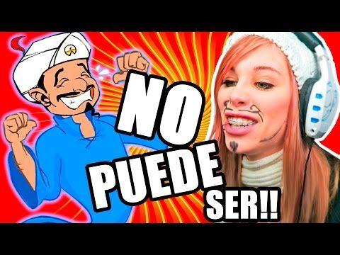 EL PAPEL DE VATER ESPIA | AKINATOR vs LUNA - YouTube