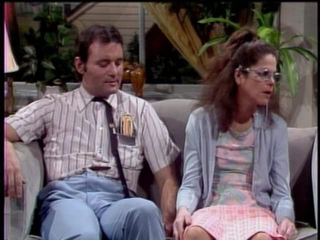 Gilda Radner-Lisa Loopner  Bill Murray - Todd