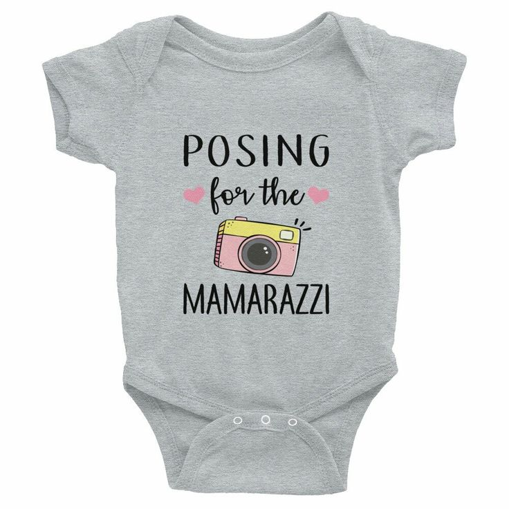 Excited to share the latest addition to my #etsy shop: Posing for the Mamarazzi Baby Infant Bodysuit Onesie http://etsy.me/2HuGfL7