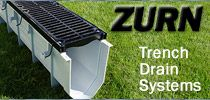 Zurn trench drain drainage solutions