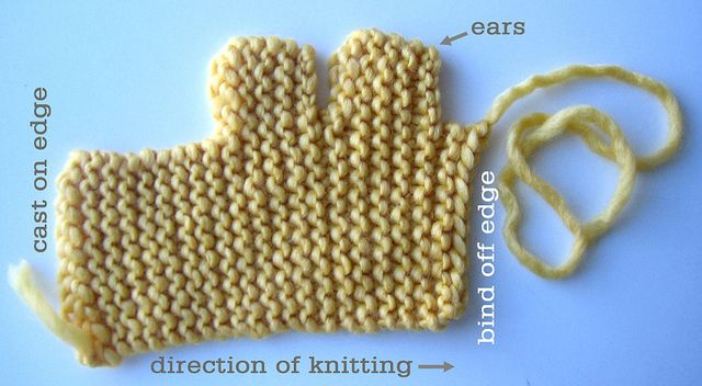 Pattern For Knit Infinity Scarf : Easy bunny DIY knitting fun Pinterest