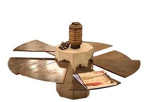 Steel Fan Coffee Table