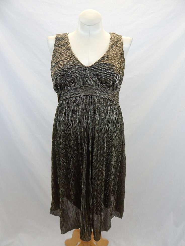 NEW WITH TAGS Gold Formal Dress