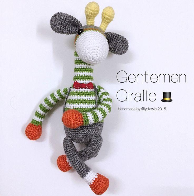 Meer dan 1000 idee?n over Giraffe Haken op Pinterest ...