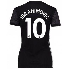 Manchester United Zlatan Ibrahimovic 10 Vieraspaita Naiset 17-18