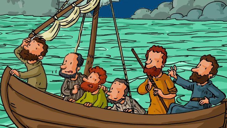 www.theobule.org - Jésus marche sur l'eau