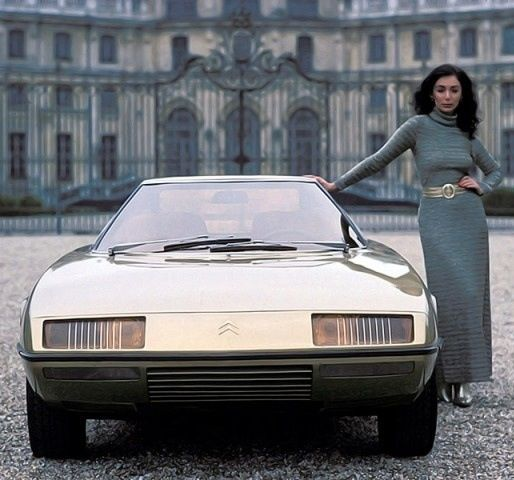 Citroën GS Camargue by Carozzeria Bertone 1972 [photo Rainer W. Schlegelmilch]