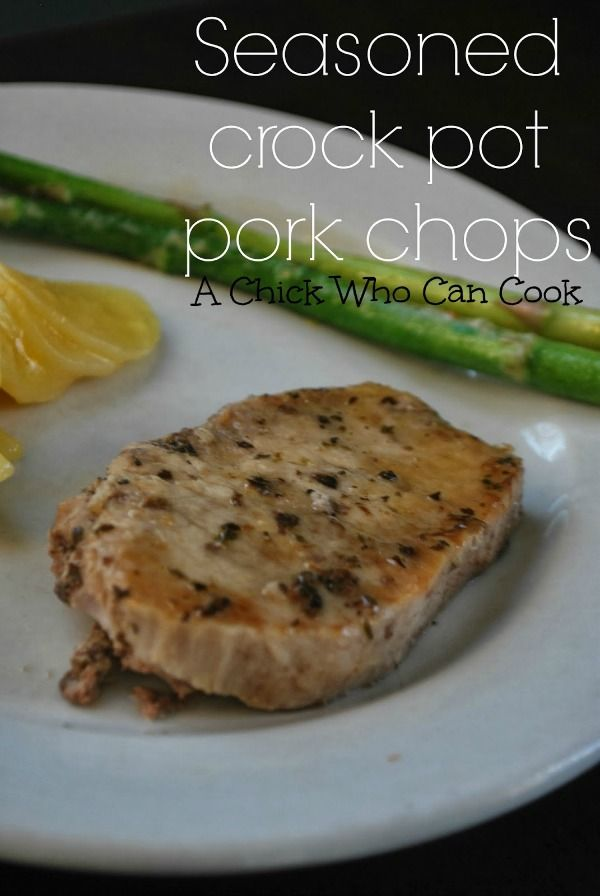 crockpot_pork_chops Change butter to ghee and now it is Whole30 compliant.