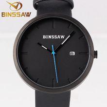 BINSSAW New Men Watches Top Brand Luxury Waterproof Clock Steel Strap Casual Quartz Watch Wrist Sport Watch relogio masculino(China (Mainland))