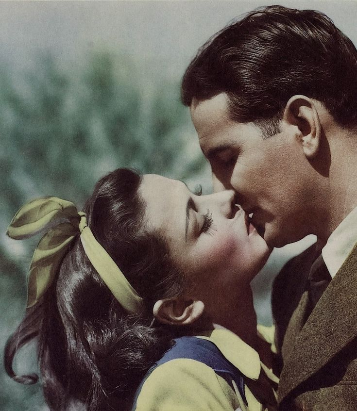 """ Gene Tierney and John Sutton in Thunder Birds: Soldiers of the Air (1942) """