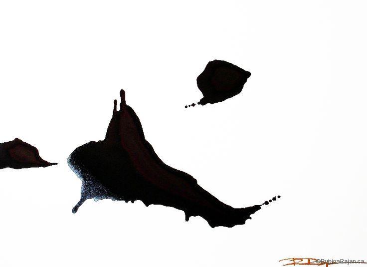 Ink journey ii | acrylic on canvas | 20x24