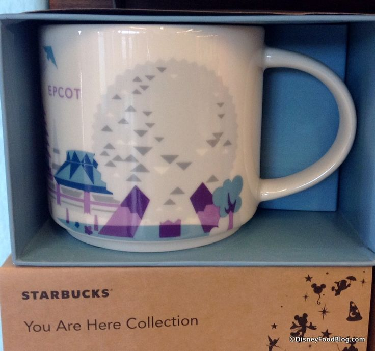 "Epcot ""You Are Here"" Mug at the Fountain View Starbucks"