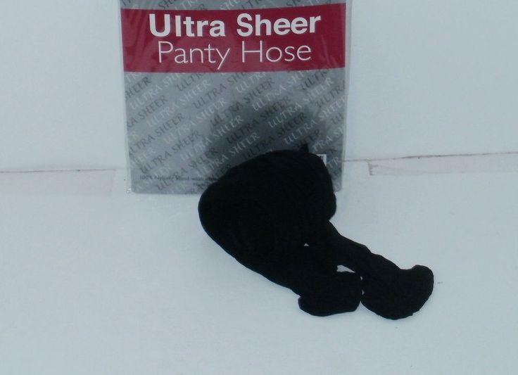 Black Pantyhose Queen Size Ultra Womens Sheer Ladies Stockings