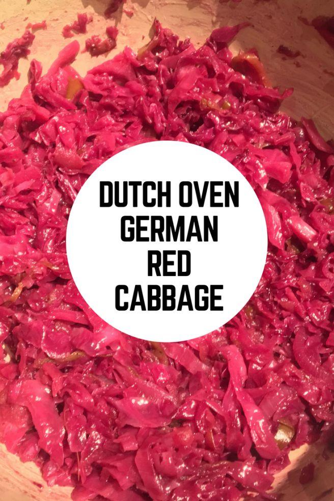 Dutch Oven German Red Cabbage Recipe