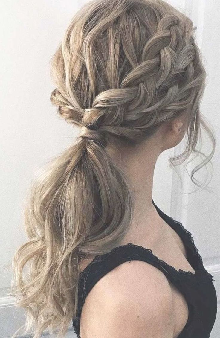Formal Ponytail Hairstyles Cute Ponytail Hairstyles Pony Hairstyles Simple Prom Hair