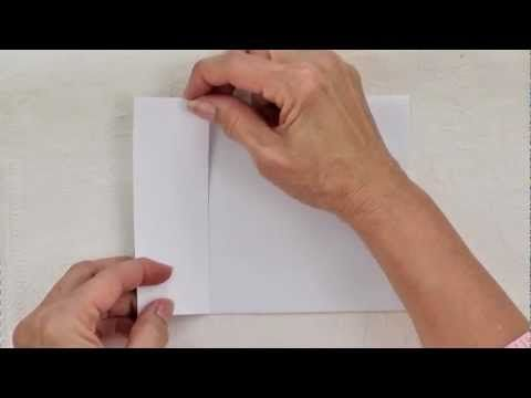 How to Make a Postage-Friendly Envelope - YouTube