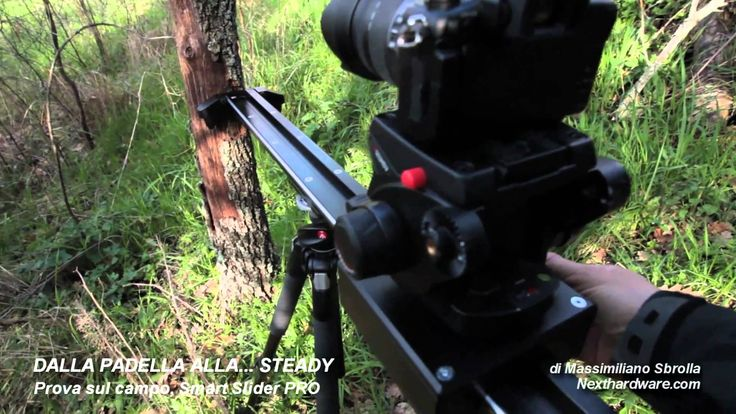 SmartSLIDER PRO field test. Check the smoothness and de reliability of this slider, the best one for professional video cameras and DSLR or Reflex.