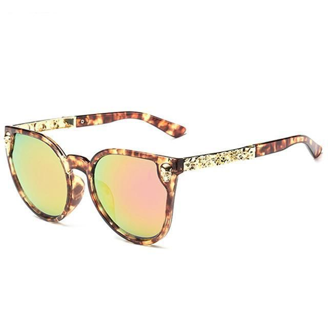Fashion Sunglasses Women Luxury Brand Designer Classic Skull Sun
