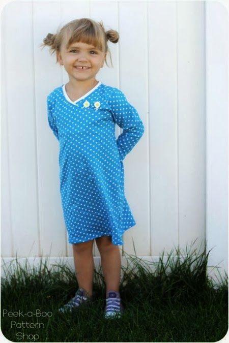 Free Girls Dress Patterns - MumsMakeLists.com