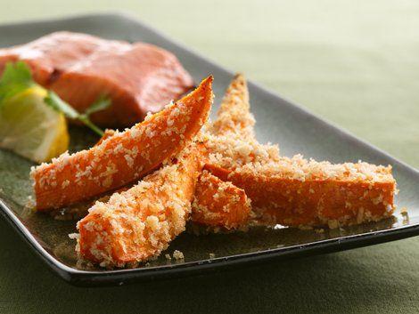 -Fried Sweet Potatoes - Tempura veggies move over! These sweet potato ...