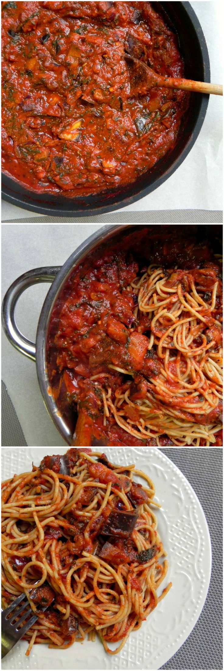 A hearty & #HEALTHY Vegetarian Bolognese that comes together in a cinch. This #VEGAN Pasta is meaty, saucy, kinda chunky and will be sure to please the whole family! #glutenfree - Ceara's Kitchen