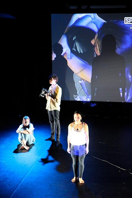 QUT Drama students and NIDA directors collaborate on Babel. Organised by Head of QUT Drama, Sandra Gattenhof and Head of Directing at NIDA, Egil Kipste.