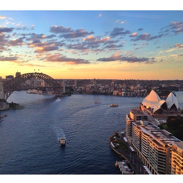 Sunsey #Sydney #Australia by stephtee (instagram)